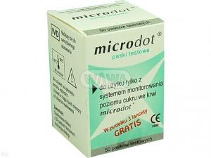 Microdot test pask. 50 pasków