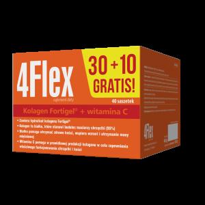 4 Flex - 30 saszetek (+10 gratis)