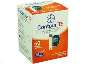 Test paskowy Contour TS x 50 pasków