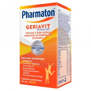 Pharmaton Geriavit 30 tabl.