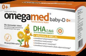 Omegamed Baby+D kaps.twistoff 60 kaps.