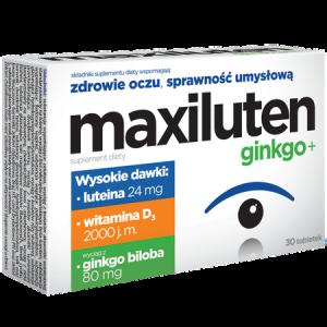 MAXILUTEN GINKGO+ x 30tabl.
