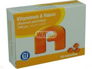 Vitamina A 2500j.m. x 50 kaps.