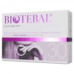 Biotebal 5mg x 30 tabl.