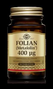 SOLGAR Folian (Metafolina) 400µg tabl. 50t