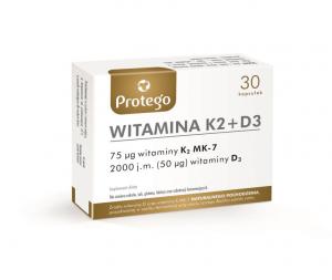 Protego Witamina K2+D3 kaps.elast. 30kaps.