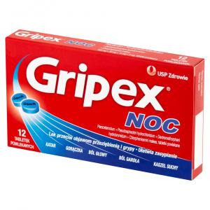 Gripex NOC x 12 tabl.