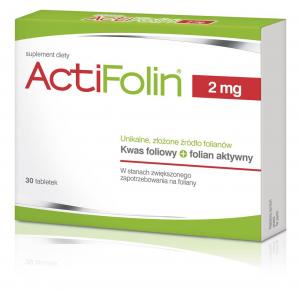 Actifolin 2 mg x 30 tabl.
