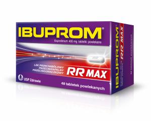 Ibuprom RR MAX 400mg x 48 tabl.