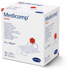 Kompresy MEDICOMP EXTRA 10x10cm x 100szt