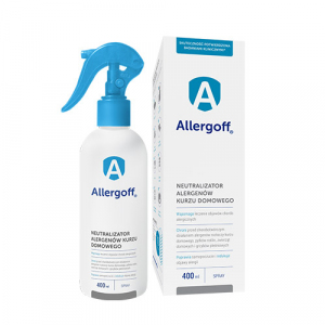 Allergoff Neutralizator Alergenów Spray 400ml