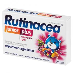 Rutinacea Junior Plus pastyl.dossania 20pa