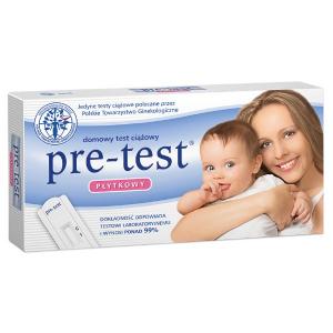 Test ciążowy PRE-TEST płytkowy 1 szt.