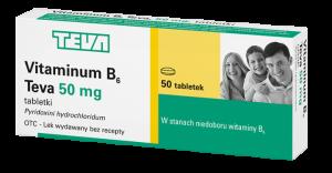 Vitamina B6 50mg x 50 tabl.