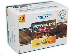 Lecytyna 1200 Forte x 40 kaps. NATURKAPS