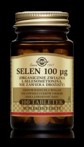 SOLGAR Selen 0,1 mg x 100 tabl.