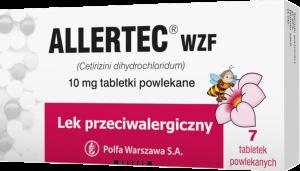 Allertec WZF 10mg x 7 tabl.