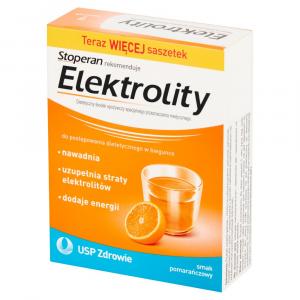 Elektrolity smak pomarańcza x 7sasz.