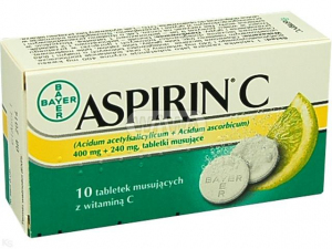 Aspirin C x 10tabl.mus. PHARMAVITAE