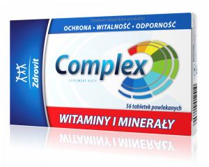 Zdrovit Complex Witaminy i Minerały 56tabl