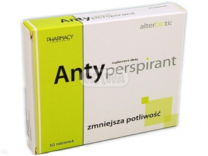 Antyperspirant x 30 tabl.