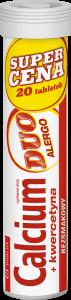 Calcium +Kwercetyna DUO Alergo 20 tabl.mus.