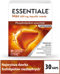 Essentiale Max 600mg x 30 kaps.