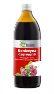 EkaMedica Koniczyna czerw Sok 99,8% 500 ml
