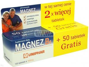 Magnez Cytrynowy B Complex 100 tabl.(2x50)