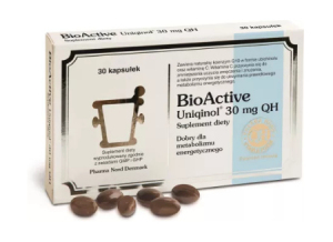 Bio Active Q10 Uniqinol 30 mg QH kaps. 30k