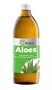 EkaMedica Aloes Sok płyn 500ml