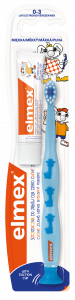 ELMEX szczoteczka miękka 0-3 LAT 1szt.