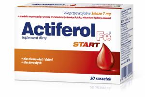 ActiFerol Fe START x 30sasz.