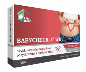 BABYCHECK-1 WB Test ciążowy z krwi 1szt.