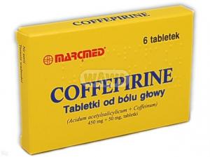 Coffepirine /od bólu głowy/ x 6 tabl.
