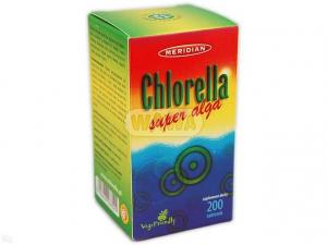 Chlorella algi prasowane tabl. 200 tabl.