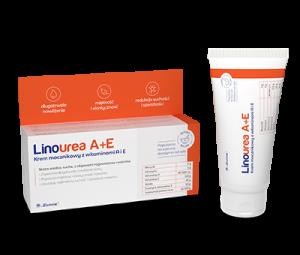 LINOUREA A+E Krem mocznikowy z witamin.A i