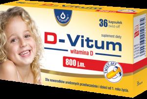 D-Vitum 800j.m. x 36 twist-off