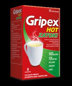 Gripex Hot ZATOKI pr.dop.rozt.doust. 8sasz
