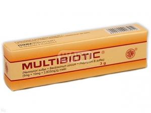 Multibiotic maść (5mg+0,01g+ 0,833mg) 3g