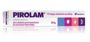 Pirolam 1% 10mg/g zawiesina na skórę 20g