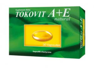 Tokovit A+E natural kaps. 30 kaps.