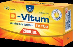 D-Vitum forte 2000j.m. x 120kaps.