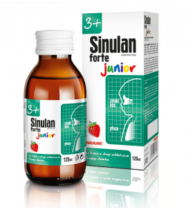 Sinulan Forte Junior płyn doustny 120 ml