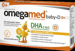 Omegamed Baby+D 0+ kaps.twistoff 30kaps.