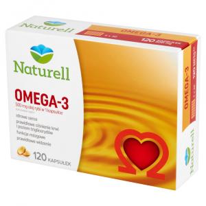 NATURELL Omega-3 kaps. 0,5 g 120 kaps.