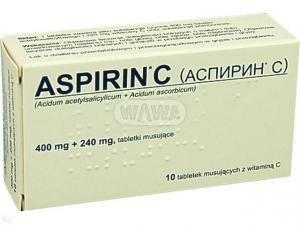 Aspirin C x 10tabl.mus. INPHARM