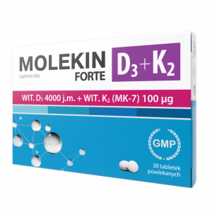Molekin D3 + K2 Forte tabl.powl. 30tabl.