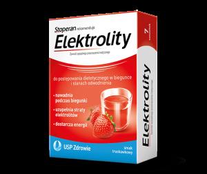Elektrolity smak truskawkowy x 5sasz.