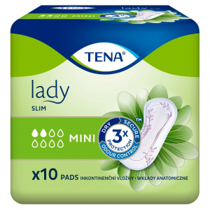 Wkł.anat. TENA Lady Slim Mini 10szt.